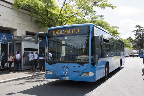 un bus della linea 070